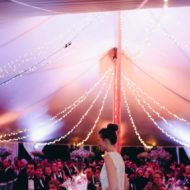 10x16m Silhouette tent C met drapage