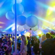 7x13m Silhouette - japanse lantaarns