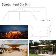 Stretch 3x6 m